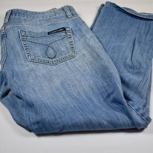 Womens Calvin Klein Relaxed Fit Jeans 29/8 (G7)